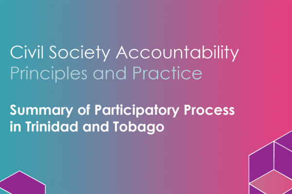 Civil Society Accountability Summary