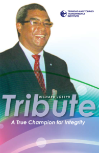 A Tribute to Richard Joseph, a True Champion for Integrity