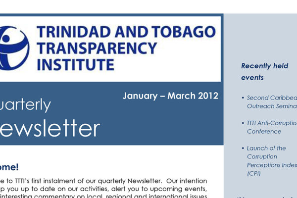 TTTI Newsletter Mar 2012