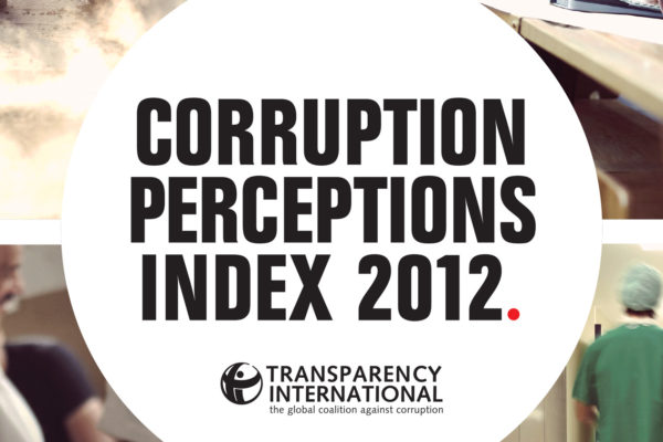 2012 Corruption Perceptions Index