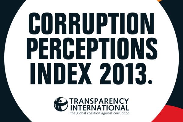 2013 Corruption Perceptions Index