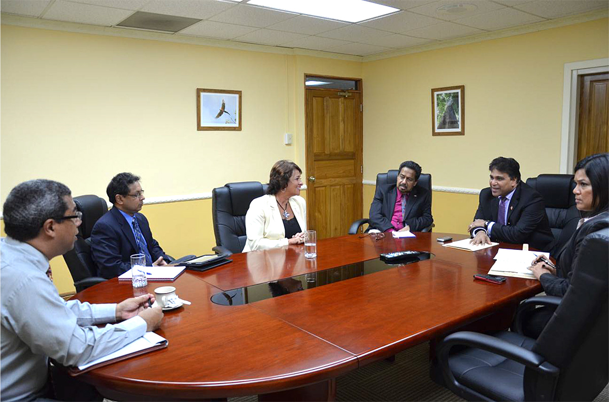 Meeting with Minister of Housing & the Environment
