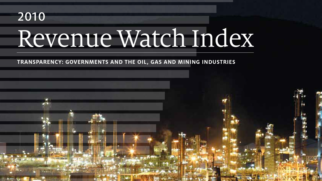 Revenue Watch Index 2010